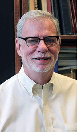 Photo of Chief Librarian Larry Alford