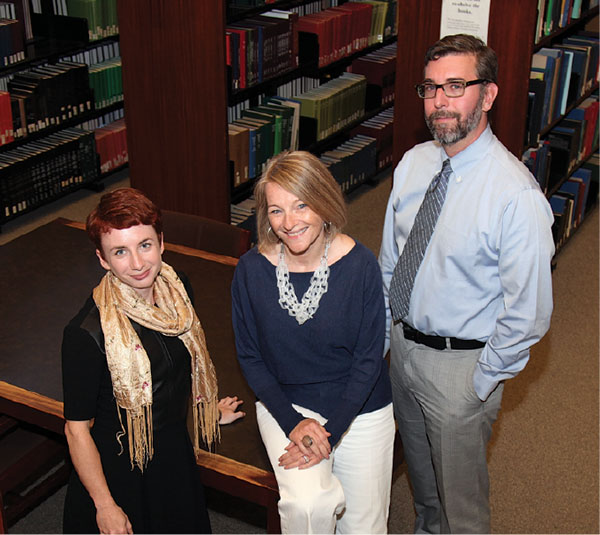 photo of the scholarly communications team