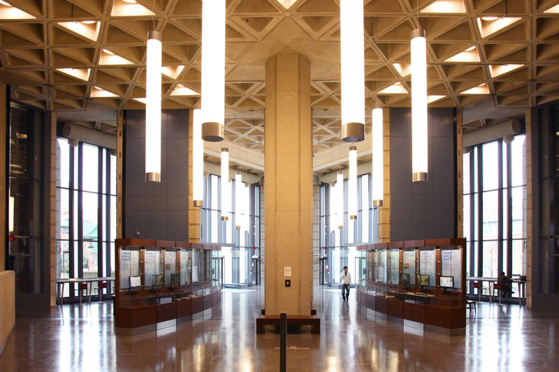 robarts 2nd floor portico after renovation