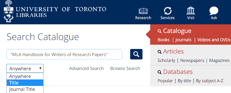 How can I find a specific book? | University of Toronto Libraries