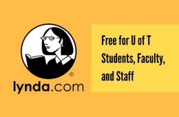 lynda.com - free for U of T students, faculty and staff