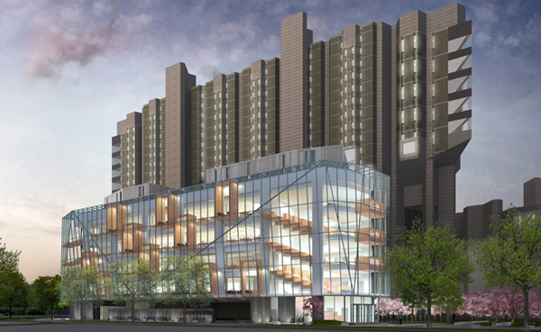Photo of proposed Robarts Common addition.