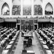 Canadian House of Commons floor on March 10, 2938