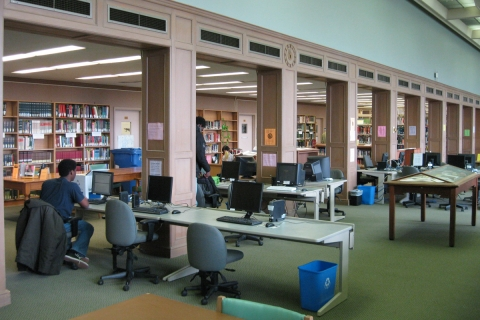 A picture of the UC Library