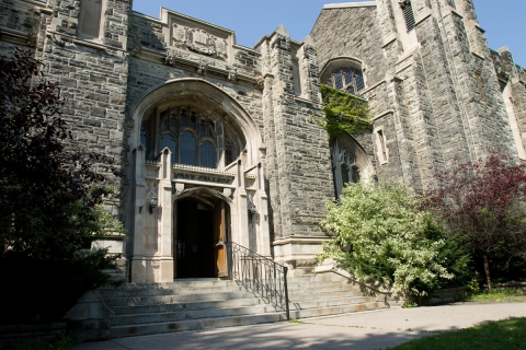 Photo of Knox College Library (Caven)
