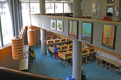 Photo of New College Library