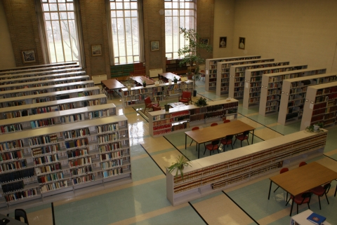 Photo of St Augustine's Seminary Library