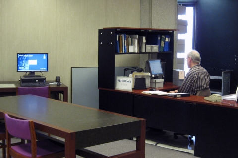 Photo of U of T Archives & Records Management Services (UTARMS)
