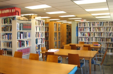 Photo of the Department of Art Library