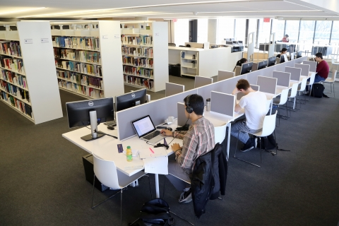 study space at Rotman